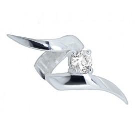 Faux Piercing Helix Cristal Clip Acier