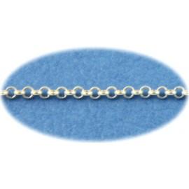 Piercing chaine de taille anneaux argent massif 925