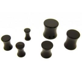 Piercing Plug Noir Organic