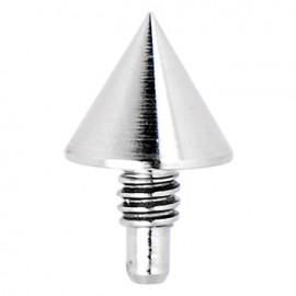 Piercing Microdermal Acier Petit Pic