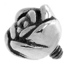 Piercing Microdermal Acier Petite Fleur