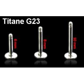 Piercing Tige Piercing Labret Titane G23