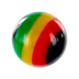 Boule Piercing Couleurs Jamaïque