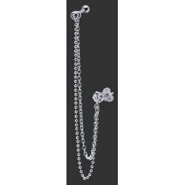 Piercing Helix Double Chaine Argent 925