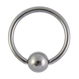 Tragus anneau acier chirurgical