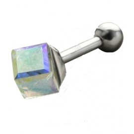 Helix acier cristal blanc