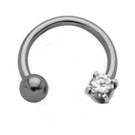 Téton deux diamants acier chirurgical